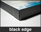 Black Edge Canvas Photo