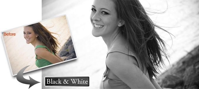 Canvas Photo Effects: Black & White