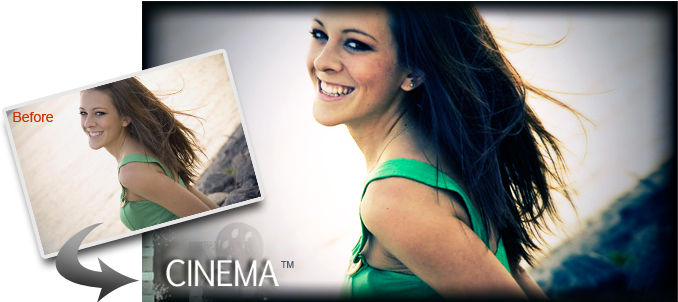Canvas Photo Effects: Cinema