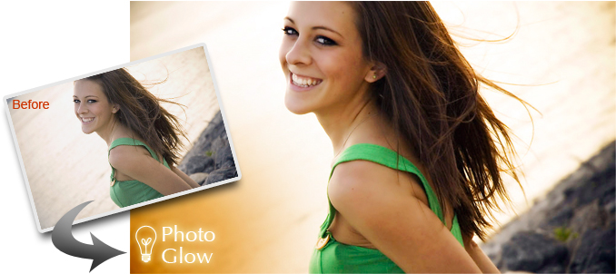 Canvas Photo Effects: Photo Glow