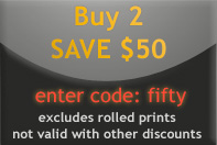 Buy Any 2 Canvas Prints and Save $50.
