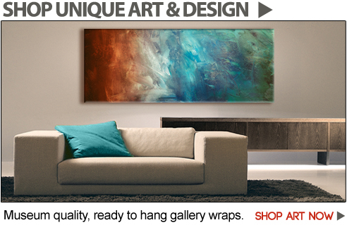 Shop Modern Art on Canvas and Geometric Mid Century Modern Art